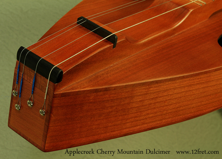 Applecreek mountain dulcimer tailblock
