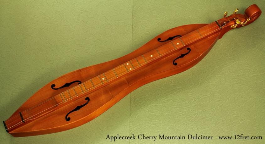 Applecreek mountain dulcimer full front