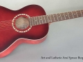 Art and Lutherie Ami Spruce Burgundy full front view