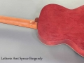 Art and Lutherie Ami Spruce Burgundy full rear view