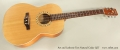 Art and Lutherie Tres Natural Cedar QIT Full Front View