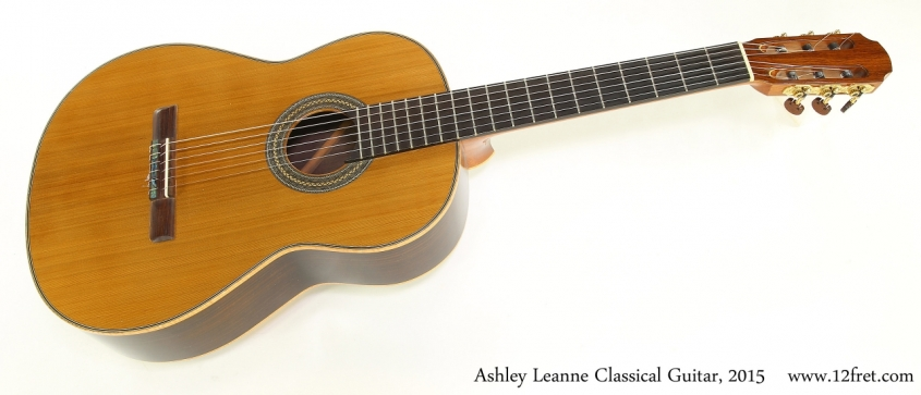Ashley Leanne Classical Guitar, 2015   Full Front View