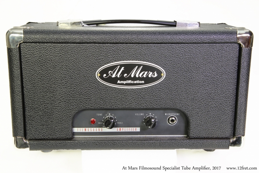 At Mars Filmosound Specialist Tube Amplifier, 2017 Full Front View