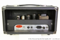 At Mars Filmosound Specialist Tube Amplifier, 2017 Full Rear View
