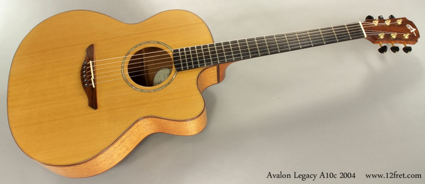 Avalon Legacy A10c Jumbo Cutaway 2004 full front view