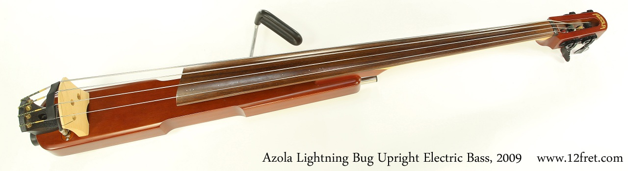 Azola Lightning Bug Upright Electric Bass, 2009 Full Front View