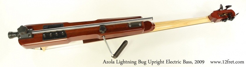Azola Lightning Bug Upright Electric Bass, 2009 Full Rear View