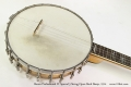 Bacon Professional FF Special 5 String Open Back Banjo, 1914 Top Heel View
