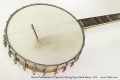 Bacon Professional FF Special 5 String Open Back Banjo, 1914 Top Tail View