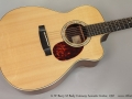 G W Barry M Body Cutaway Acoustic Guitar, 1997 Top