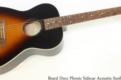 Beard Deco Phonic Sidecar Acoustic Sunburst Full Front View