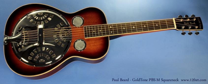 Paul Beard - GoldTone PBS-M Squareneck full front