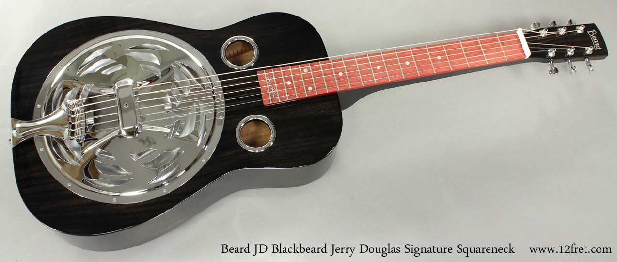 Beard JD Blackbeard Jerry Douglas Signature Squareneck full front view