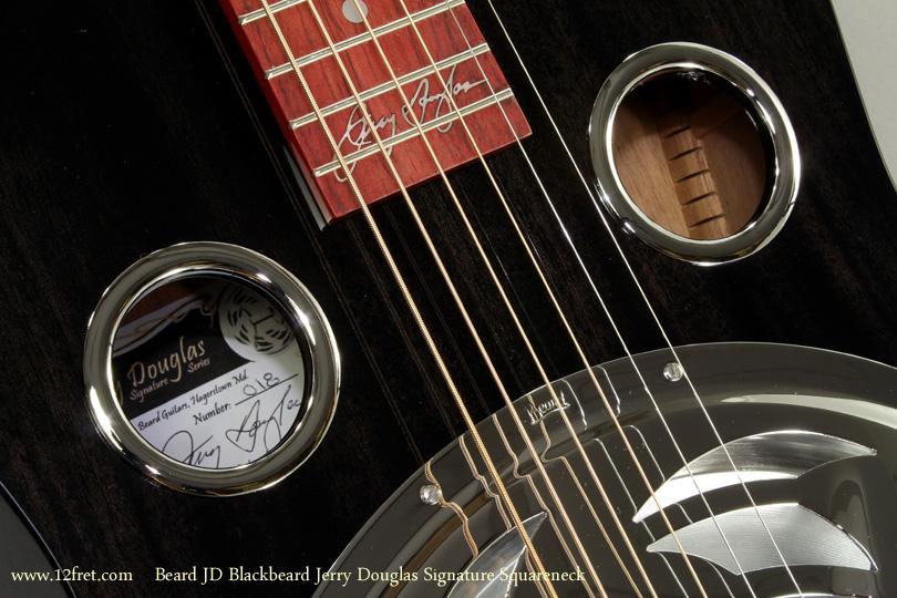 Beard JD Blackbeard Jerry Douglas Signature Squareneck label