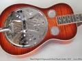 Beard Maple R Squareneck Reso-Phonic Guitar, 2011 Top
