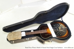 Beard Deco Phonic Model 27 Round Neck Single Cone Sunburst   Unboxed and Case Open!