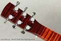 Beard R Model Flame Maple Squareneck Resophonic Guitar head rear