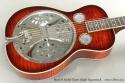 Beard R Model Flame Maple Squareneck Resophonic Guitar top