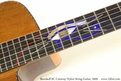 Beardsell 9C Cutaway Nylon String Guitar, 2009 Eye of Horus Inlay