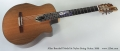 Allan Beardsell Model 9c Nylon String Guitar, 2009 Full Front View
