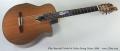 Allan Beardsell Model 9c Nylon String Guitar, 2009 Full Front View