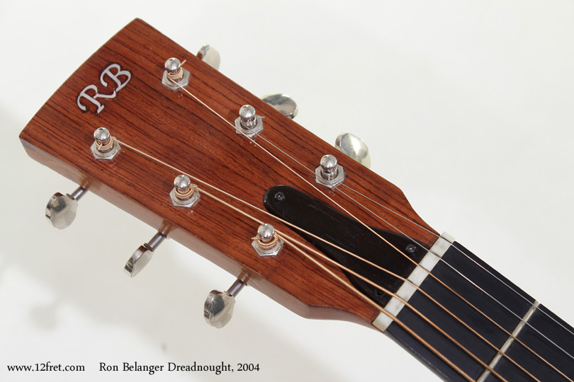 Ron Belanger Bubinga Dreadnought  2004 head front