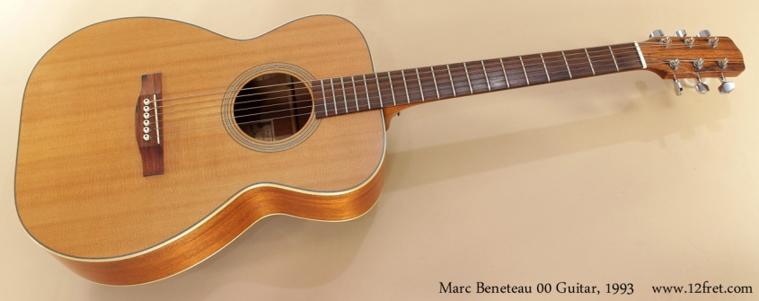 Marc Beneteau 00 Guitar, 1993 full front view