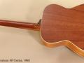 Marc Beneteau 00 Guitar, 1993 full rear view