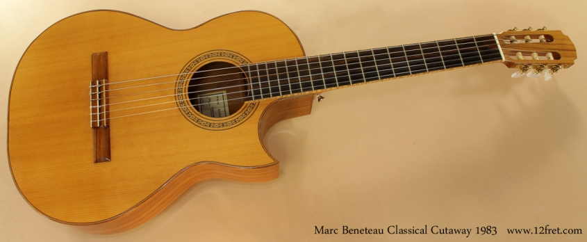 Marc Beneteau Cutaway Classical 1983 full front view