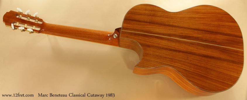 Marc Beneteau Cutaway Classical 1983 full rear view