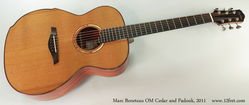 Marc Beneteau OM Cedar and Padouk, 2011 Full Front View