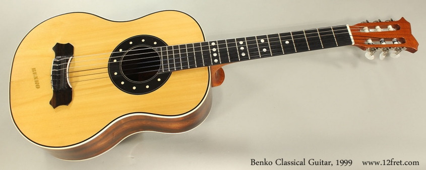 Benko Classical Guitar, 1999 Full Front View