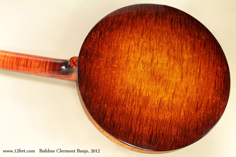 Bishline Clermont Banjo 2012 back