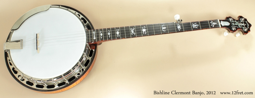 Bishline Clermont Banjo 2012 full front view