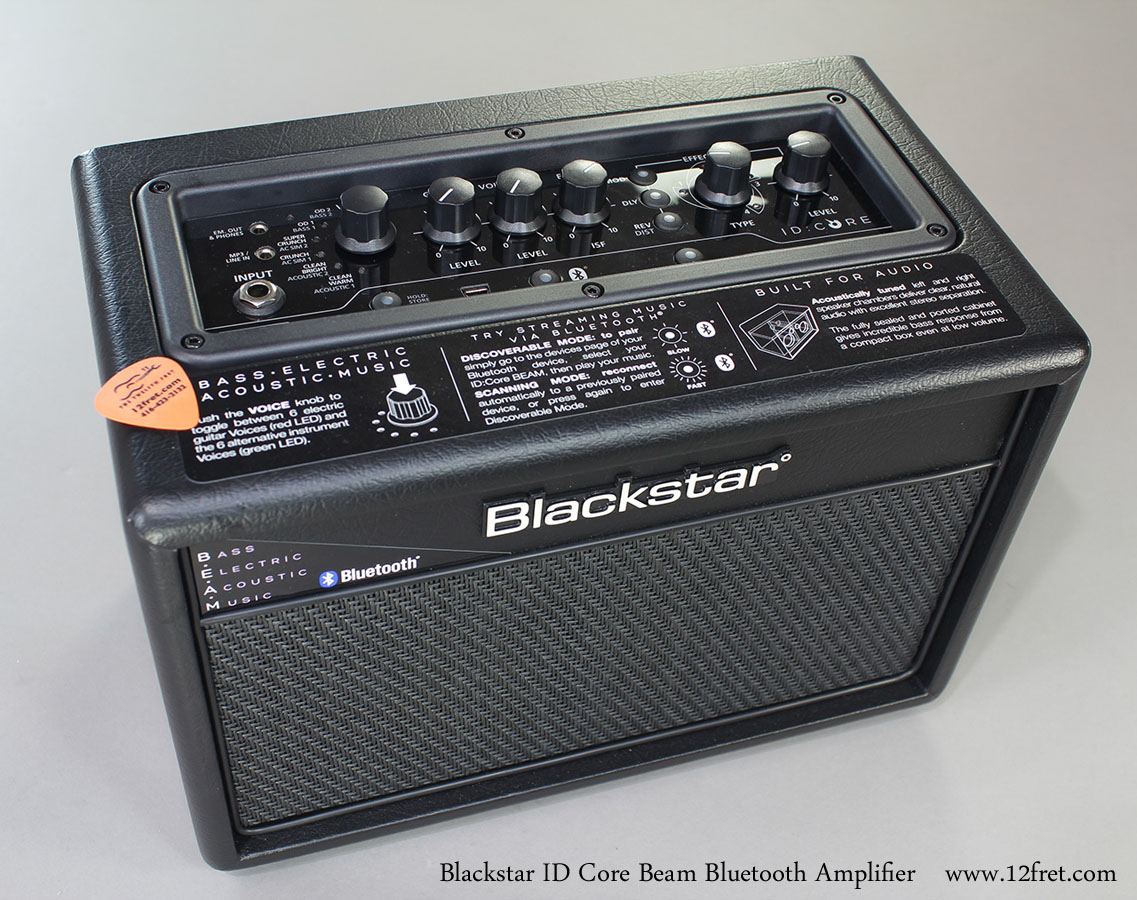 Blackstar Id Core Beam Bluetooth Amplifier Www 12fret Com