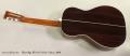 Blueridge BR-371 Parlor Guitar, 2009 Full Rear View