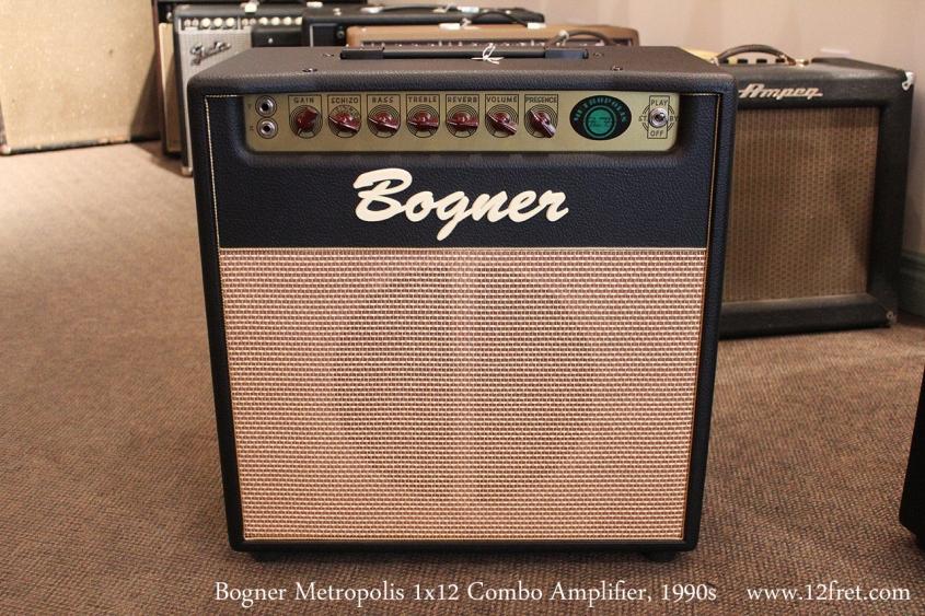 Bogner Metropolis 1x12 Combo Amplifier, 1990s Full Front View