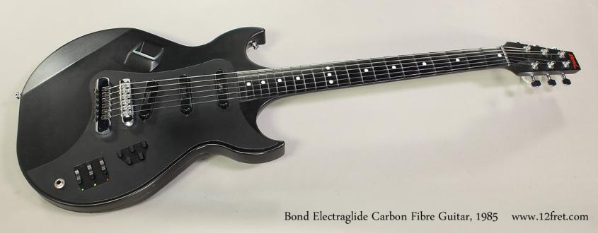 Bond Electraglide Carbon Fibre Guitar, 1985 Full Front View