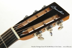 Boucher Heritage Goose HG-26 000 Body 12 Fret Guitar  Head Front View