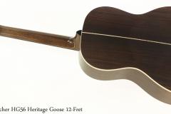 Boucher HG56 Heritage Goose 12-Fret Full Rear View