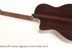 Boucher JP Cormier Signature 12-Fret Guitar No.3 Full Front View