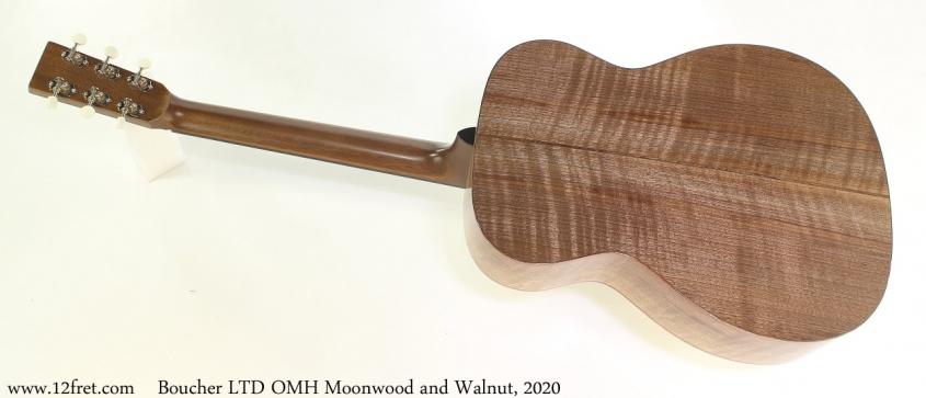 Boucher LTD OMH Moonwood and Walnut, 2020 Full Rear View