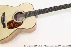 Boucher LTD OMH Moonwood and Walnut, 2020 Full Front View