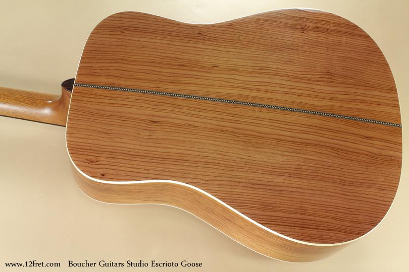 Boucher Guitars Studio Escrito Goose back