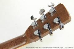 Boucher Studio Goose SG-52 Indian Rosewood Dreadnought Guitar   Head Rear View