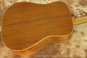 Boucher Studio Mahogany Goose Dreadnought back