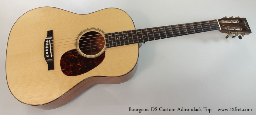 Bourgeois DS Custom Adirondack Top Full Front View