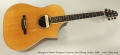 Bourgeois Martin Simpson Cutaway Steel String Guitar, 1998 Full Front View