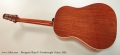 Bourgeois Slope D Dreadnought Guitar, 2003 Full Rear View