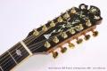 Bozo Podunavac Bell Western 12 String Guitar, 1989 Head Front View